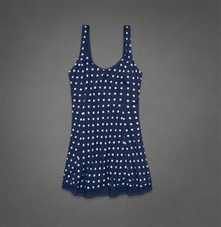 美国代购专柜正品Abercrombie&Fitch女士时尚连衣裙65648