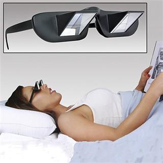 懒人眼镜躺在床上看电视看书Reizen Prism Bed Spectacles 防颈椎