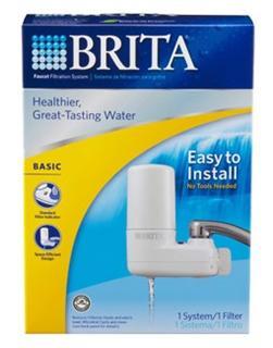 【Brita 碧然德】BASIC 水龙头净水系统 带1滤芯