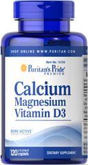 (5瓶装) 钙+镁+D (抗骨质疏松,增加骨密度,防肩周炎脊椎病)