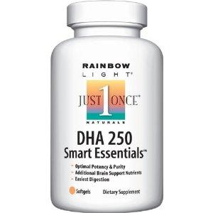 Rainbow Light孕期专用DHA 250, 60粒胶囊 60天量