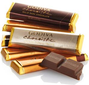 【GODIVA】哥蒂瓦多口味巧克力5条一组