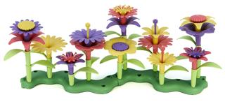 【美国包邮】美国制造Green Toys  环保绿色玩具花园花积木插花