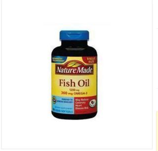 2瓶装美国直邮 Nature Made Omega-3 深海鱼油 200粒