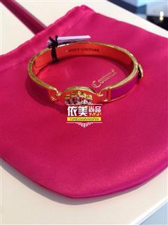 依美尚品 Juicy Couture 带钻百搭手镯手环 粉色现货 包税 22