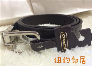 【美国直邮】coach腰带 F66125 双面皮带 畅销好评款 黑色/棕色