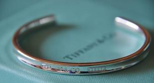 【美国直邮包关税免邮费】Tiffany 1837 Cuff蒂芙尼银质手镯