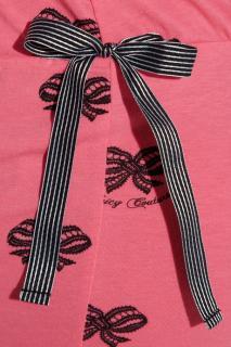 美国直邮JUICY橘姿 可爱蝴蝶结吊带+短裤家居套装 5折特价!