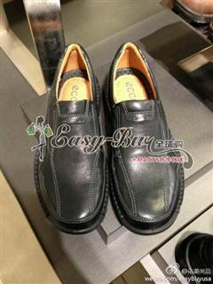 依美尚品ECCO 超软底皮鞋 职场休闲 男士最爱 鞋跟约 4CM