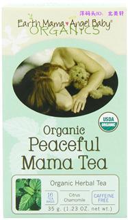 美国直邮 Earth Mama Angel Baby 地球妈妈有机舒缓茶孕妇/产后抗失眠焦虑