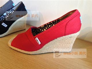 Foxxy 美代 美国直邮 TOMS 2013新款 鱼嘴凉鞋