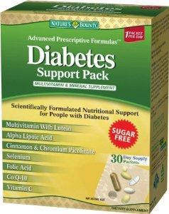 自然之宝Nature's Bounty糖尿病患者综合营养素30包