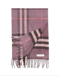 Burberry 方格围巾