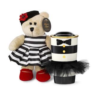 星巴克美国2013圣诞爱丽丝+奥利维亚Alice+Olivia 套装小熊加杯子