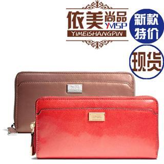 美国代购 COACH 49600 49598 麦迪逊系列 长款女士钱包 钱夹