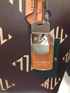 美国直邮 Ralph Lauren拉夫劳伦女士手提包 褐色和绿色