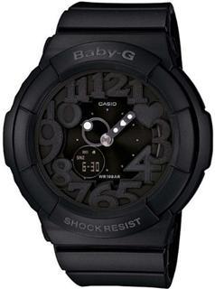 美国代购正品CASIO卡西欧女表 BABY-G新款霓虹背光BGA-131-1B包邮