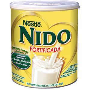 特价 1罐起包美国直邮 雀巢Nestle Nido孕妇成人儿童全脂奶粉1600克超值家庭装