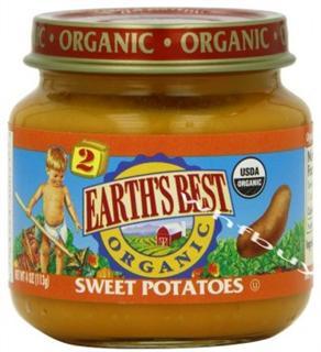 美国 Earth's Best世界最好2段二段有机果泥 多种口味 任选4种包邮