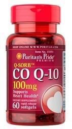 【5瓶包邮】Puritan's Pride (15593) 辅酶Q10软胶囊(保护心脏)