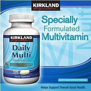 美国 Kirkland 可兰 复合维生素(番茄红素配方) 500粒/瓶