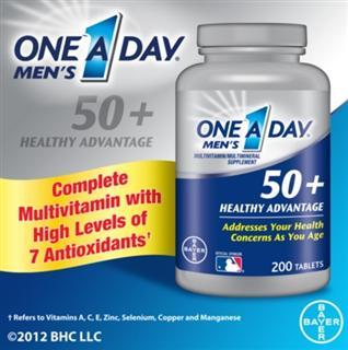 美国 Bayer One A Day 50岁以上男性专用多种维生素 200片/瓶