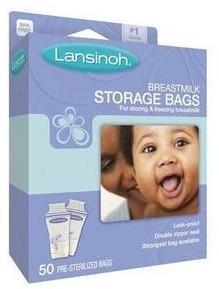 美国直邮 Lansinoh 母乳储存袋/储奶保鲜袋 50片 产妇必备