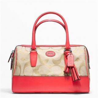 美国代购专柜正品Coach 包 蔻驰女士单肩手提包F23575