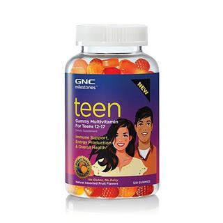 美国直邮包税 GNC青少年12-17岁儿童 Gummy 维生素软糖 120粒