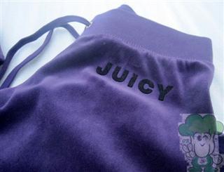 橘姿/橘滋 Juicy Counture天鹅绒套装净色压绒款S+XS