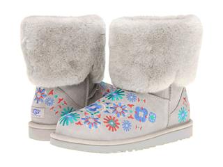 美国2013新款限量版 UGG2013花卉刺绣雪地靴 印地安绣花风格 三色