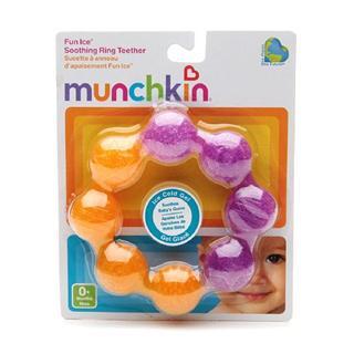 美国munchkin 麦肯齐 咬咬 牙胶/冰冻固齿器 出牙必备