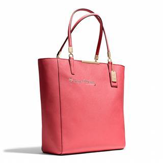 依美尚品 COACH 28743 竖款 麦迪逊系列 SAFFIANO皮革 N/S 手提包