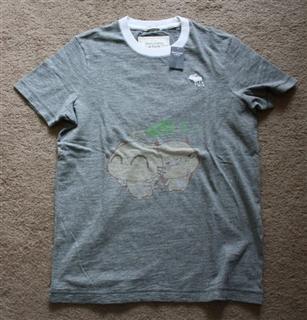 美国代购 Abercrombie Fitch T恤衫 多色多款 小鹿标