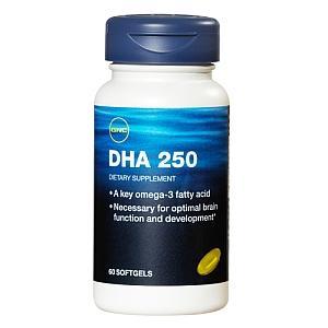 免运费包美国直邮GNC孕妇 婴儿DHA胶囊 活化脑细胞 增强记忆60粒