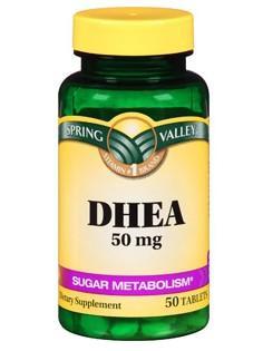 免运费包美国直邮Spring Valley DHEA养巢卵巢保养做试管必备50mg