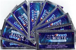 Crest 3D White Professional 佳洁士3D职业美白牙贴40片 专业效果