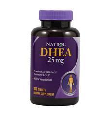 免运费!包美国直邮Natrol DHEA脱氢表雄酮 25mg 300片 试管婴儿