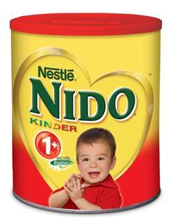特价 1罐起包美国直邮 雀巢Nestle NIDO益生元营养组合全脂即溶奶粉1600克1岁+儿童