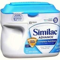 美国直邮Similac Advance雅培金盾婴儿配方奶粉一段(0-12个月) 964克
