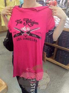 美国代购 true religion  女士 T恤 多款多色