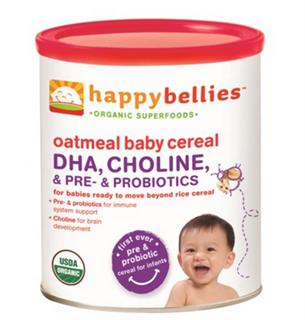 Happy Baby 燕麦米粉6个月+