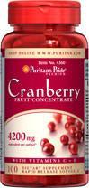 (5瓶装)三重强效蔓越莓(消炎抗菌泌尿系统,防胃溃疡,抗癌)