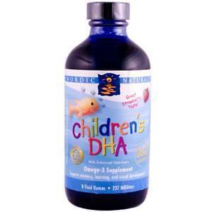 直邮 美国进口Nordic Naturals婴儿鳕鱼肝油 儿童DHA滴剂237ml