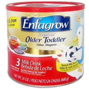 美国直邮 进口美赞臣Enfagrow金樽配方3段奶粉 原味奶粉 680g
