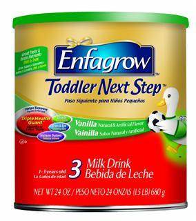 美国直邮 美赞臣3段Enfagrow金樽奶粉 香草味 680g 3罐装