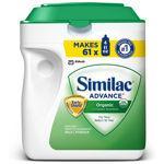 美国直邮:雅培金盾一段1段有机奶粉964g 三罐包邮Similac Organic