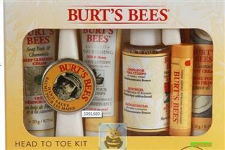 美国直邮BURT'S BEE小蜜蜂从头到脚经典礼盒6件套