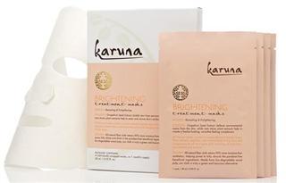 美国正品現貨Karuna美白排毒亮肤面膜4片包装*白净剔透排毒