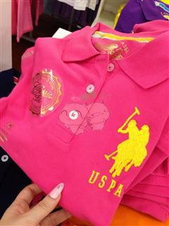 美国代购 USPA女士 宽松款 短袖POLO衫  多色